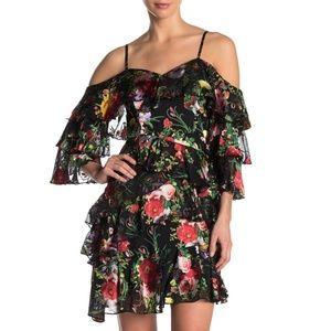 ALICE + OLIVIA Florentina Off the Shoulder Dress